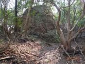 (05) ボコボコの岩DSC04750.JPG