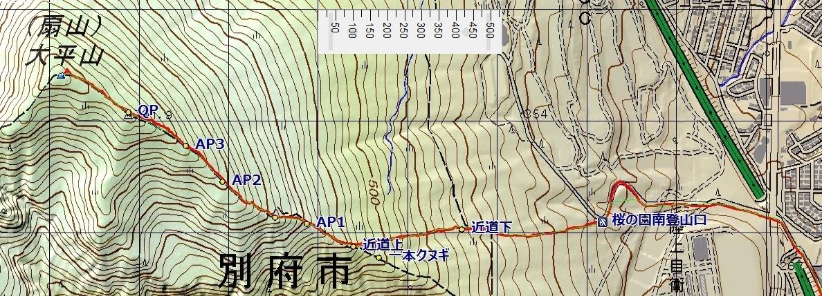 ルートマップ大平山・間引きscale.jpg